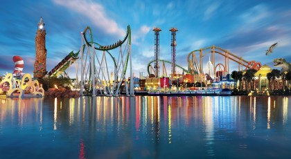 Islands of Adventure theme park american vacation living orlando 420x230 Tampa Theme Parks