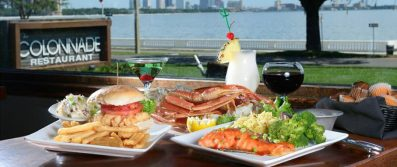 The Colonnade Restaurant TampaBay 397x167 Tampa Restaurant