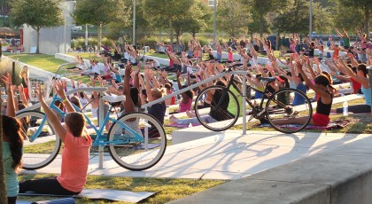 Yoga in the Park Tampa 420x230 Gym & Health